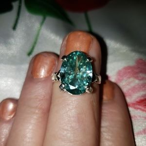 Outrageous Moissanite Ring